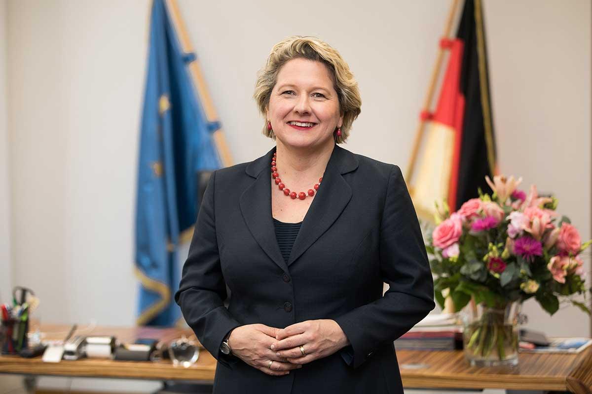 Svenja Schulze Bundesministerin für Umwelt, Naturschutz und nukleare Sicherheit